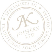 Seal of AK Joinery Ltd in Picton, Marlborough NZ